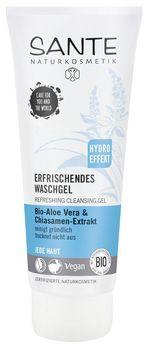 SANTE Erfrischendes Waschgel Bio-Aloe Vera & Chiasamen-Extrakt 100ml MHD 31.01.2021