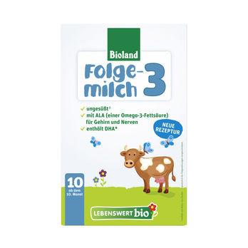 Lebenswert Bio-Folgemilch 3 Bioland 475g MHD 17.03.2021