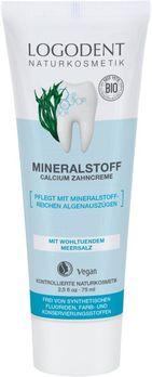 LOGONA Mineralstoff-Calcium Zahncreme Logodent 75ml MHD 31.05.2021