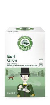 Lebensbaum Grüntee Earl Grey 30g 20 Beutel MHD 31.10.2020