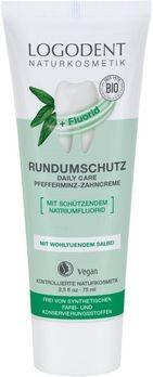 LOGONA Daily Care Zahncreme Logodent mit Fluorid EXTRAFRISCH 75ml MHD 31.01.2020