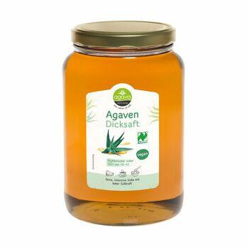 agava Agavendicksaft Glas 2kg MHD 21.05.2021