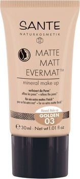 SANTE Matte Matt Evermat Mineral Make up 03 30ml MHD 30.04.2020