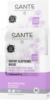 SANTE Sofort glättende Maske Teekomplex & Parakresse 2x4ml MHD 30.06.2021