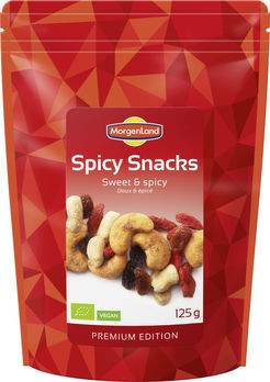 MorgenLand Spicy Snacks Sweet & Spicy 125g/A MHD 08.08.2021